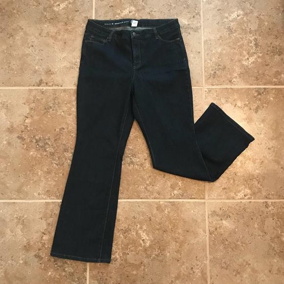 de3835620d Dress Barn Denim - Dark Wash Boot Cut Jeans - Excellent Condition